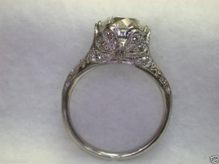antique vintage estate engagement ring my style