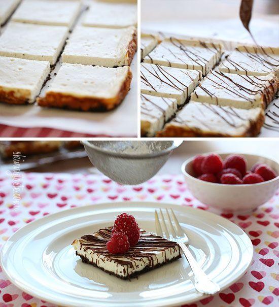 Skinny Chocolate Raspberry Cheesecake Recipe — Dishmaps