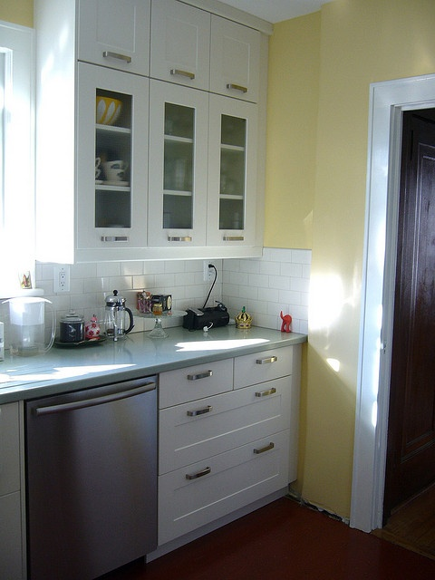 simple white cabinets  Kitchen  Pinterest
