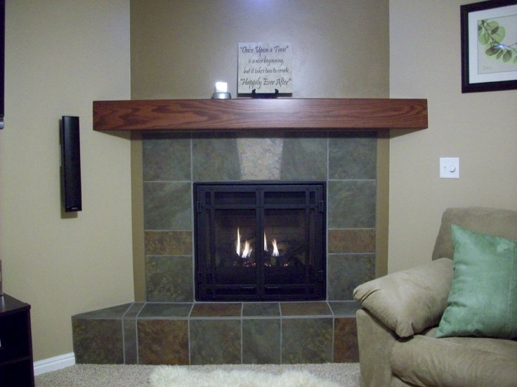 Fireplace makeovers before and after photos pinterest for Fireplace renovations before and after