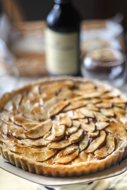 ... Colors Of Indian Cooking: Gluten Free Apple Walnut Tart with Fig Glaze