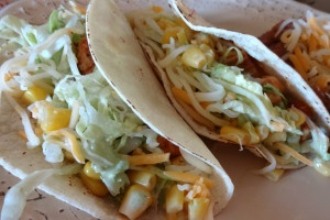 Chicken Tacos with Cilantro Lime Sauce | Savory and Scrumptious ...