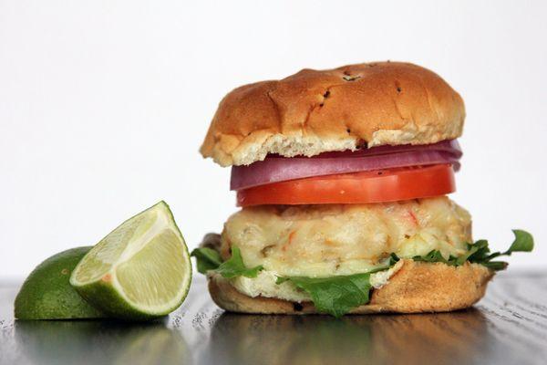 Chili Chicken Lime Burgers | @Melanie Bauer | Melanie Makes at Melanie ...