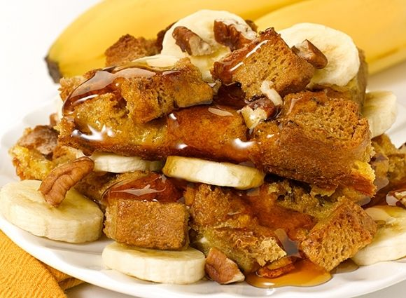 Bananas Foster French Toast | Wine & Dine | Pinterest
