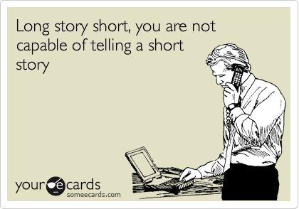 haha sounds like me! :/