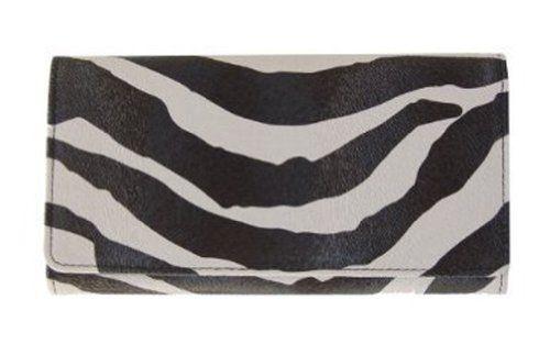Black Zebra Print Design Clutch Wallet - http://handbagscouture.net/brands/private-label/black-zebra-print-design-clutch-wallet/