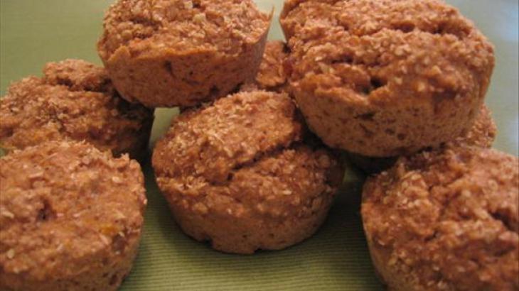 Fat-Free Peach Bran Muffins | (f) Flab to FAB | Pinterest