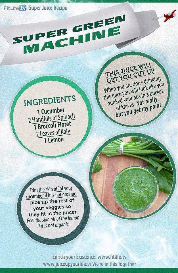is green machine healthy