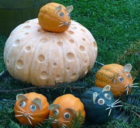 Pumpkin Carving Ideas Garden Decor Pinterest