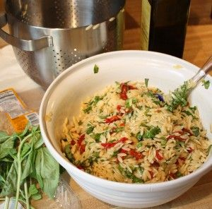 Basil, Parmesan & Sun Dried Tomato Orzo | Food Recipes & Articles | P...