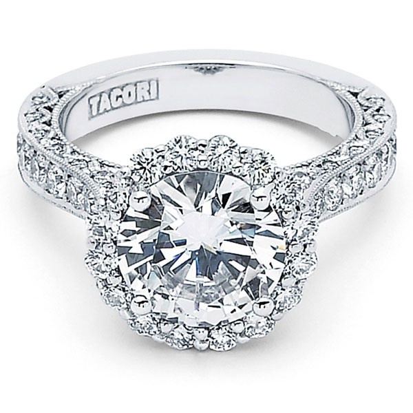 Tacori HT2605RD Engagement Ring Tacori Engagement Rings Pinterest