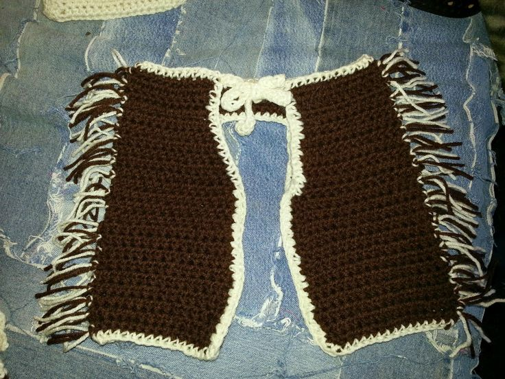 Crochet Baby Cowgirl Outfit Pattern Free : Free Infant Chaps Crochet Pattern crochet Pinterest