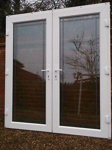 Exterior External Upvc Double Glazed French Patio Doors Frame