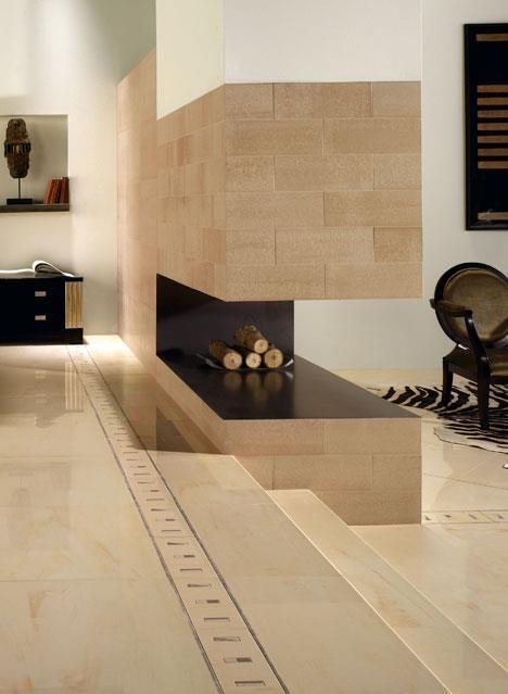 Detalle chimenea en esquina interiores decorativos - Chimenea en esquina ...