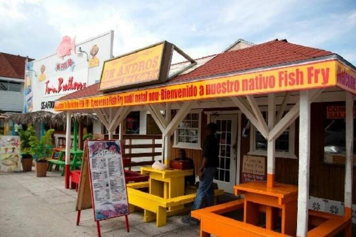 Oh andros fish fry at nassau bahamas 1 000 places to for Fish fry bahamas