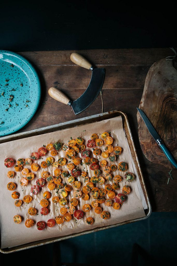oven-dried cherry tomatoes | food and drink | Pinterest