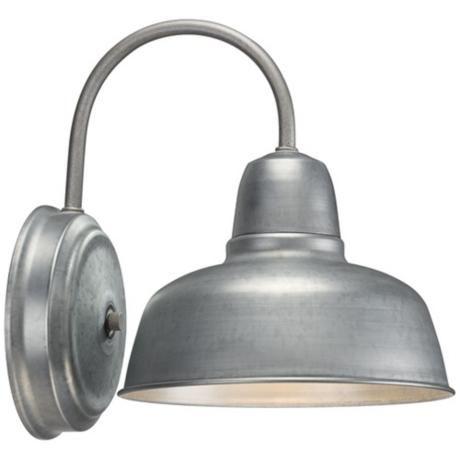 Lamps Plus Bathroom Wall Sconces : Barn 11 1/4