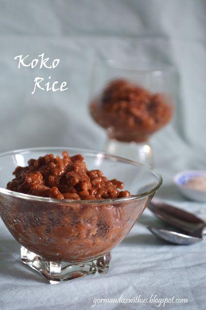 Koko Rice (Samoan Chocolate Orange Rice Pudding)