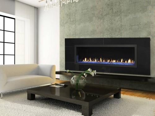 Long Fireplace Id Fireplaces Pinterest