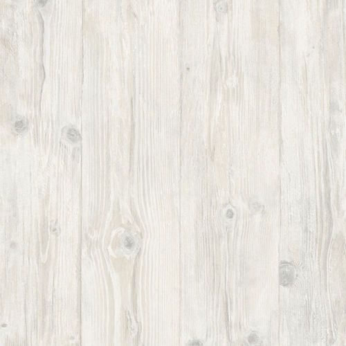 Faux 7 25 quot wide white washed wood planks wallpaper ll29501 ebay
