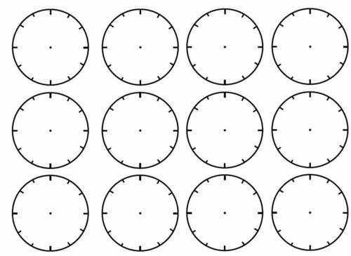 Free Worksheets Time Worksheets Ks1 Tes Free Math Worksheets – Blank Clock Worksheet
