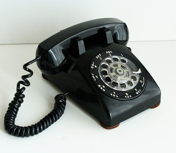 Desk Phone: Rotary Desk Phone