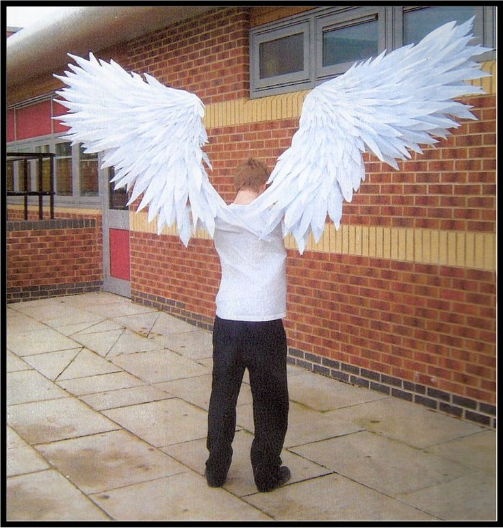 Как сделать крылья на человека своими руками