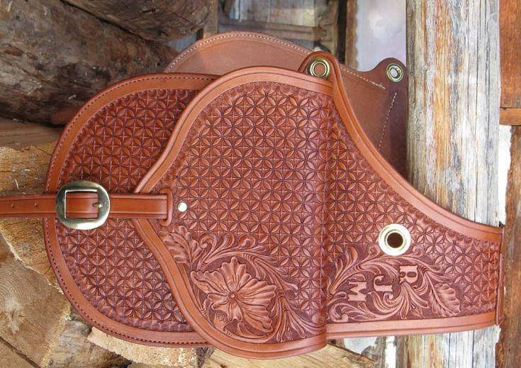 Saddlebags from Shooting Star Saddlery $400