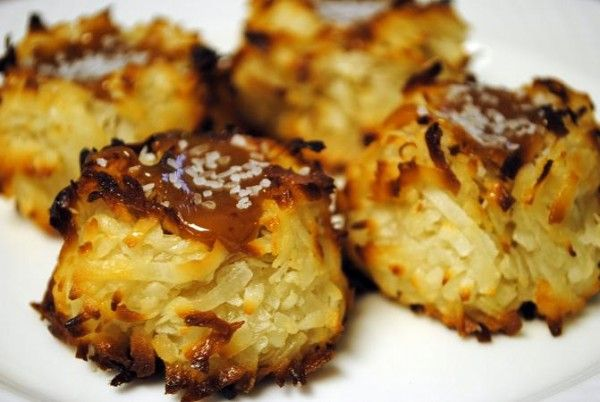 Gluten Free Salted Caramel Coconut Macaroons | Food & Wine | Pinterest