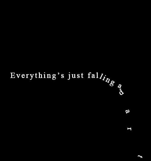 falling apart image