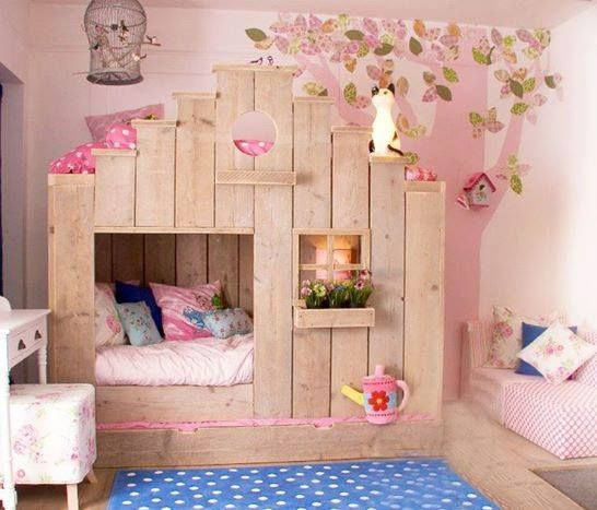 Cute little girl 39 s room bedroom ideas for little girls for Bed rooms for girls