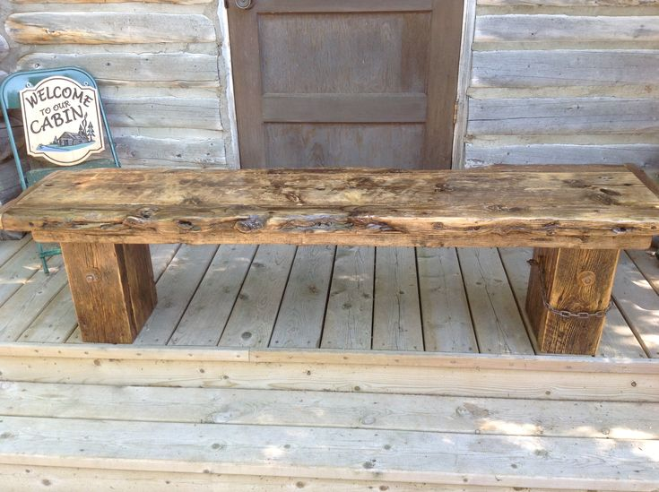 drift wood diy bench coffee table outdoor benches