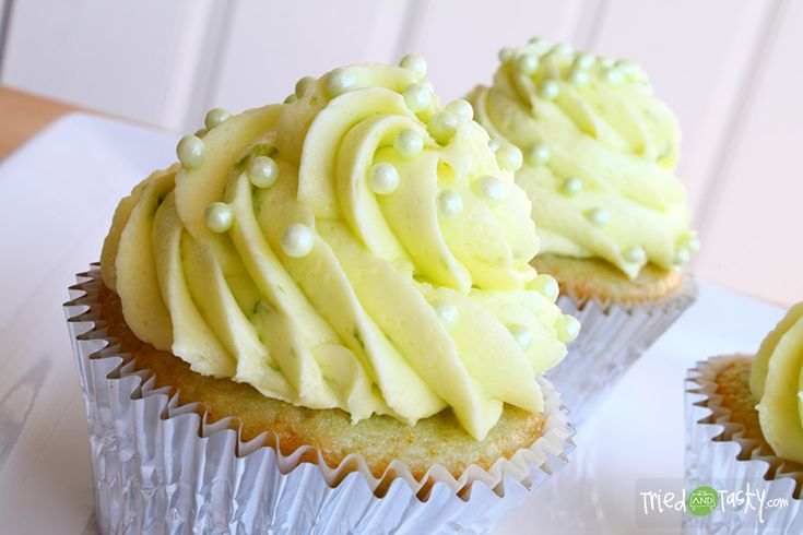 Limeade Cupcakes