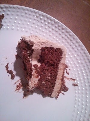 passover '11 also meant chocolate flourless cake with espresso whipped ...