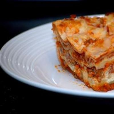 Easy Lasagna I - Click image to find more Food & Drink Pinterest pins
