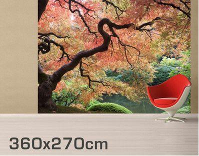 Fotobehang - zelfklevend Japanese Garden  Wallpaper  Pinterest