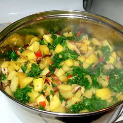Winter Vegetable Hash- my own recipe published on allrecipes! I used ...