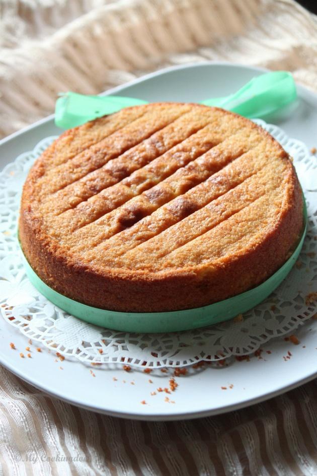 Almond Butter Cake Recipe — Dishmaps