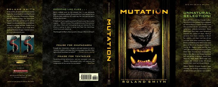 Mutation (Cryptid Hunters #4) by Roland Smith (English) Paperback Book