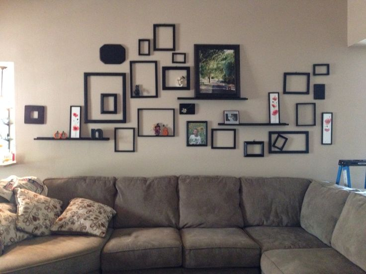 Empty Frame Collage Frames On The Wall Pinterest