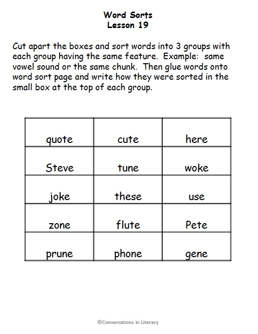 Download image Short Long Vowel Word Sort PC, Android, iPhone and iPad ...