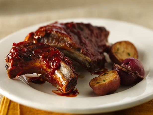 Slow-Cooker Barbecued Baby Back Ribs | Recipe