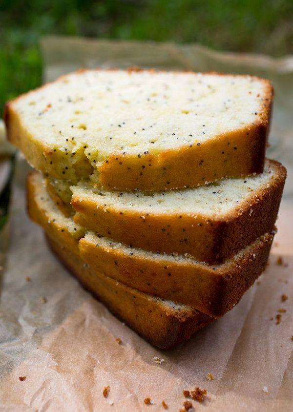 lemon poppy seed cake | picnic | Pinterest