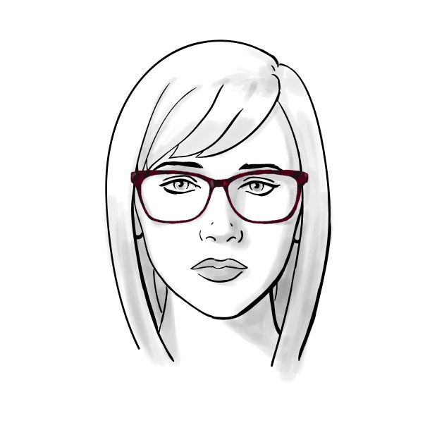 Glasses Frames For Oval Face Shape : How To: Choosing Glasses for Oval Face Shapes
