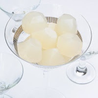 Cosmopolitan, Pear Jello Shot (Pear vodka, white cranberry juice, lime ...