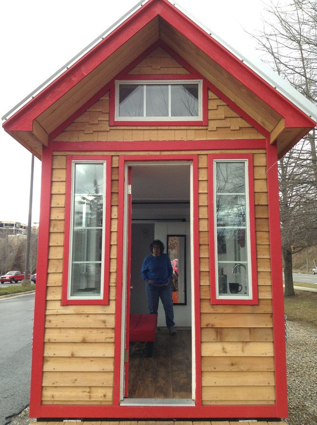 Tiny house tour 01a organize pinterest for Small little houses