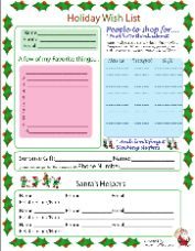 QT Holiday Wish List Handout - Help your Mary Kay® customers shop ...