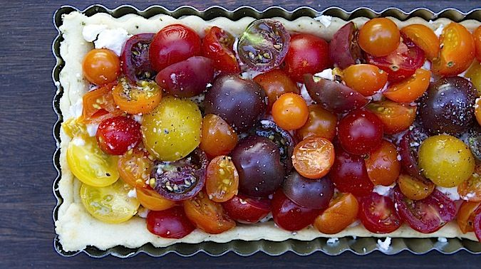 Easy Summer Tomato Tart | Food and Wine | Pinterest