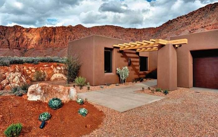 Small Adobe House Southwest Home Garden Pinterest