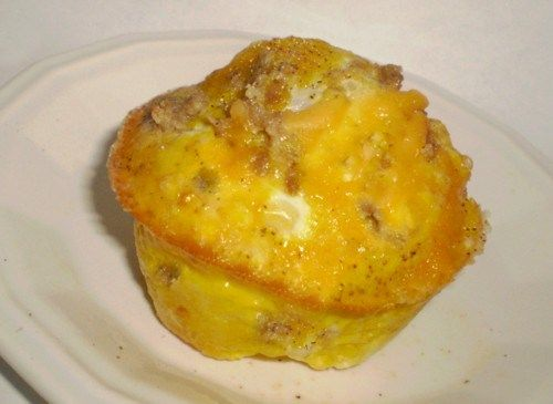 Cheesy Sausage Egg Muffins (Low Carb) | Heart of a Country Home
